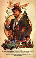 I'm Coming Over Movie Poster by blitzcadet