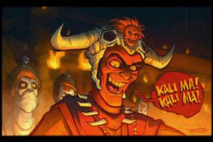 Temple of Doom by blitzcadet