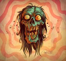 Voodoo Zombie by blitzcadet