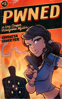 Pwned Book Cover by blitzcadet