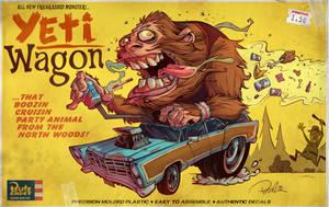 Yeti Wagon by blitzcadet
