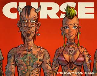 CURSE Cover Art by blitzcadet