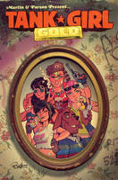 Tank Girl Gold #4 Cover by blitzcadet