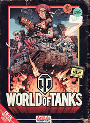 World Of Tanks Poster by blitzcadet