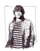 Supernatural:Sam Winchester by StevenWilcox