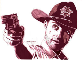 The Walking Dead: Rick Grimes by StevenWilcox