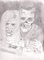 Zombie Couple by StevenWilcox