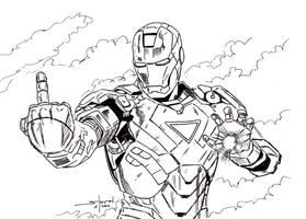 Fuck Yeah, Iron Man by StevenWilcox