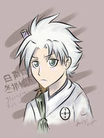 Young Hitsugaya Colored by nekyo-chan