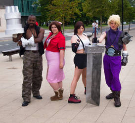 Ayacon 2013 Final Fantasy Cosplay by cosmicnut