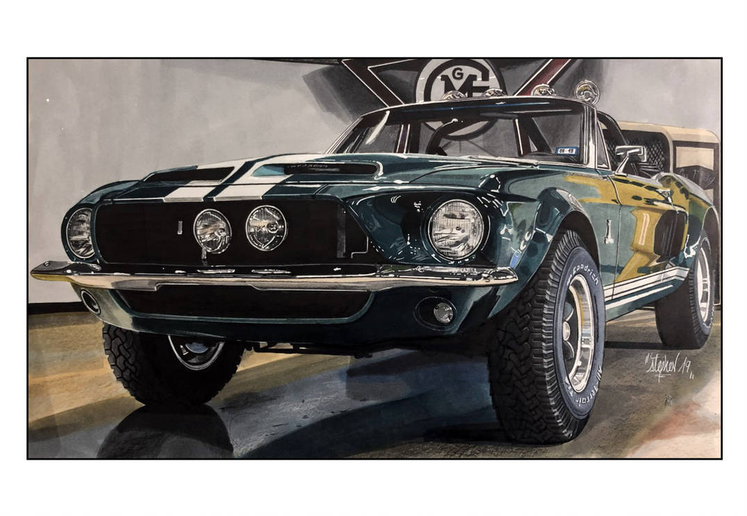 Mustang Gas Monkey by Stephen59300