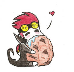 Jack Spicer Cookie by Neko-Delia