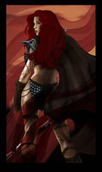Red Sonja by Pandora27