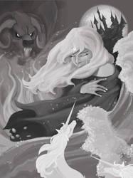 The Last Unicorn by Pandora27