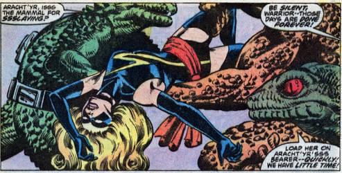 Ms Marvel #20 by BigDamnVillain