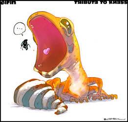 Gecko :::: by ArtofGrelin