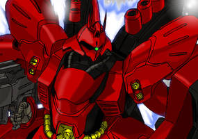 MSN-04 SAZABI by 73H-FR33M4N