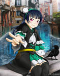 Yohane Descends in Italy by 73H-FR33M4N