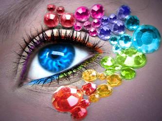 Rainbow Eye by asdfgfunky