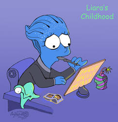 Liara, Liara's Childhood by Agregor