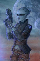 Peebee, Mass Effect Andromeda by Agregor