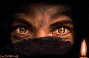 Bright Eyes by hnedoocko