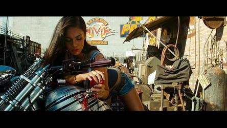 Transformers Revenge Of The Fallen - Mikaela (3) by NewYungGun