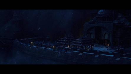 X-Men Days Of Future Past - Monastery by NewYungGun