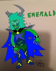 Emerald (Mine) by LightningWolf272
