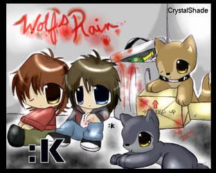 --Wolfs' Rain-- by CrystalKitsune