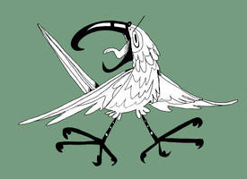 kea bird by Feyurii
