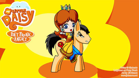 My Little Daisy: Pony Frank is Angry by Kunou