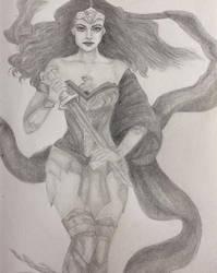Wonder Woman by steadybarbarian