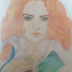 Triss Merigold - Witcher by steadybarbarian