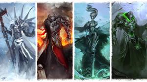 The Four Horsemen - Wallpaper by theDURRRRIAN
