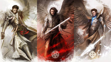 Supernatural - Angels by theDURRRRIAN