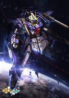 GBF:T Lightning Gundam by theDURRRRIAN