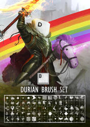 Durian Brushes by theDURRRRIAN