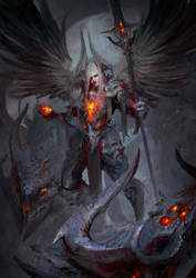 Ars Goetia - President Valac by theDURRRRIAN