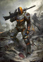 Deathstroke the Terminator by theDURRRRIAN