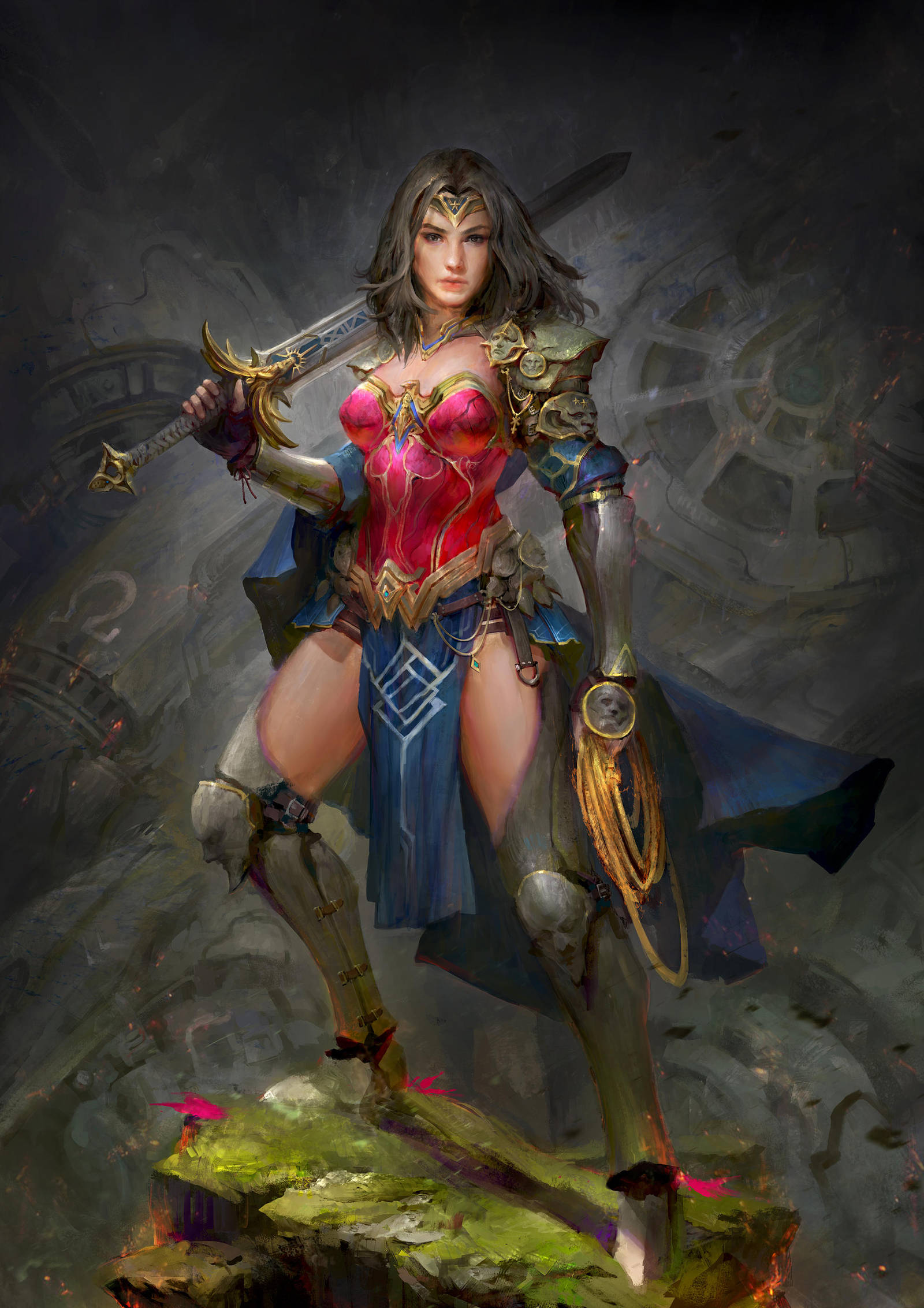 Diana of Themyscira by theDURRRRIAN