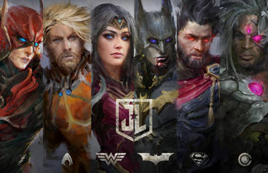 COME TOGETHER - Justice League Preview by theDURRRRIAN