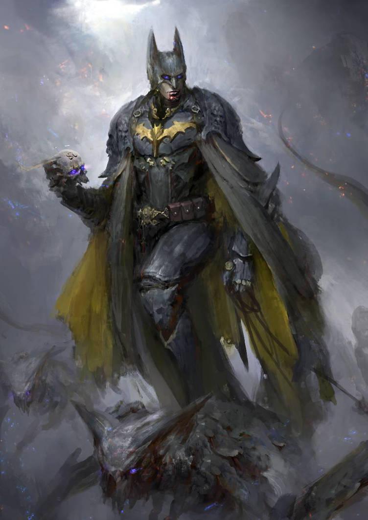 Justice League - Batman by theDURRRRIAN