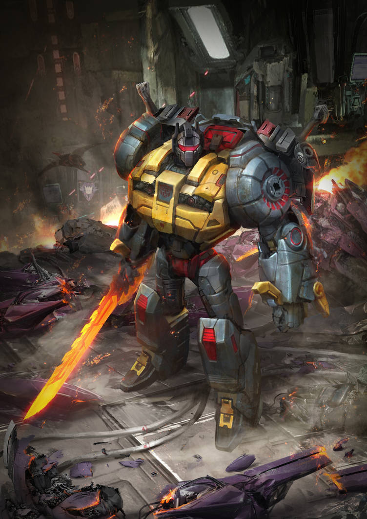 Grimlock by theDURRRRIAN