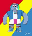 Bismuth as Rainbow Dash by HariCoelho