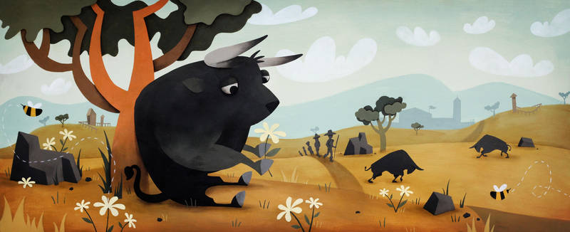 Ferdinand the Bull by andrejolicoeur