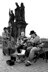 Band on the bridge by Lensha