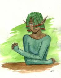 Green Shirt by SadWindling