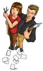 Comic school commision by SadWindling
