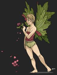 Flower Faeries 1: Begonia by SadWindling